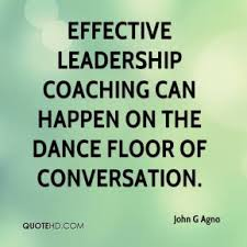 effective leadershipcoaching dance floor